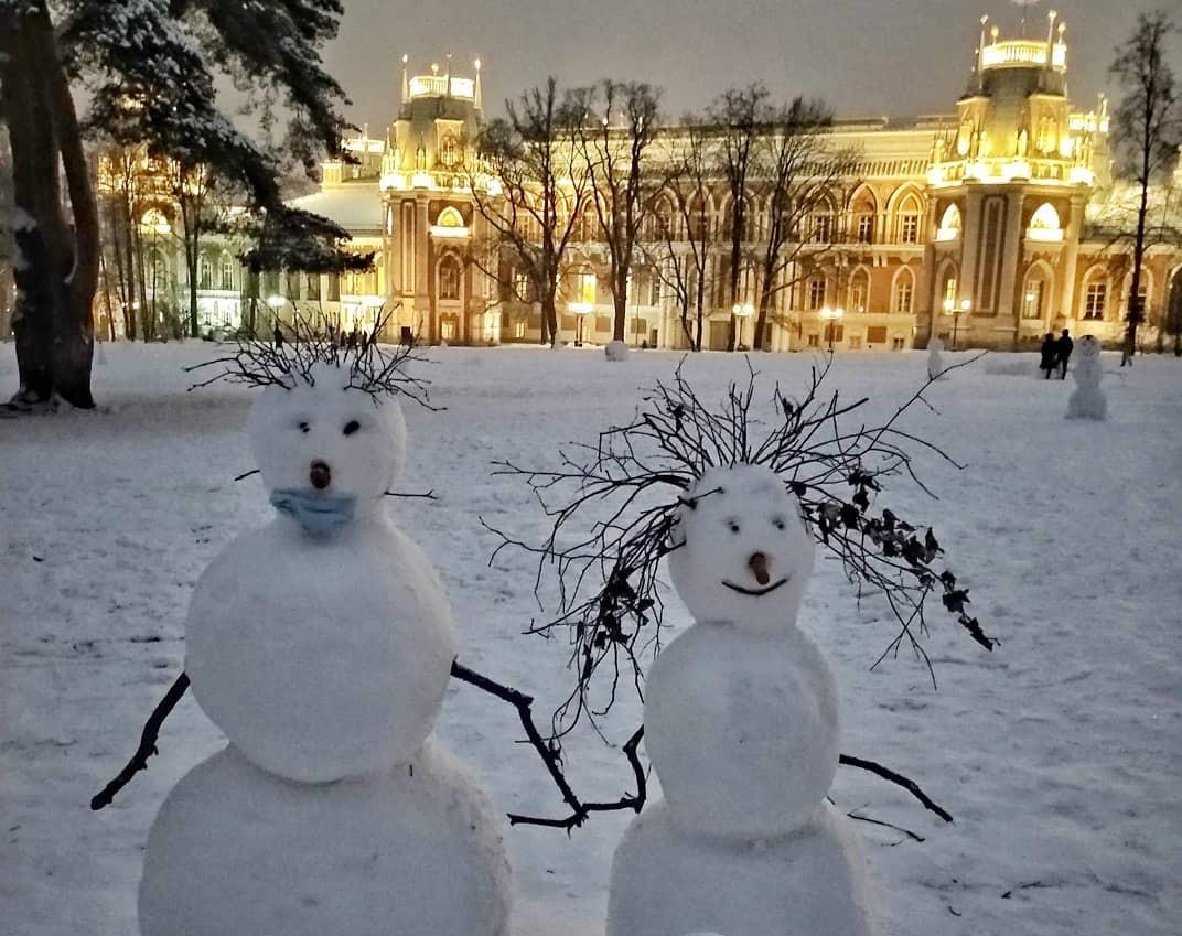 Снежная сказка в музее-заповеднике «Царицыно»