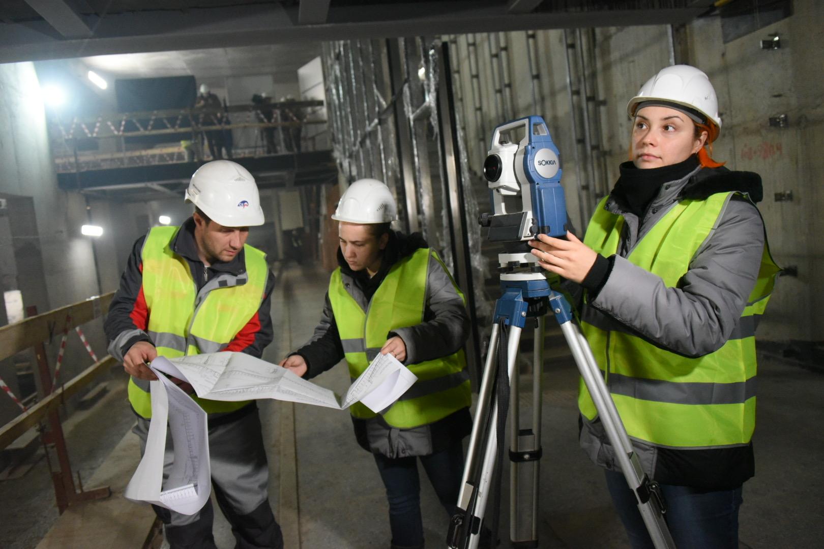 Москва построит девять станций метро в следующем году