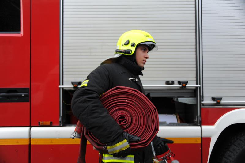 Спасатели ликвидировали пожар на юго-востоке Москвы