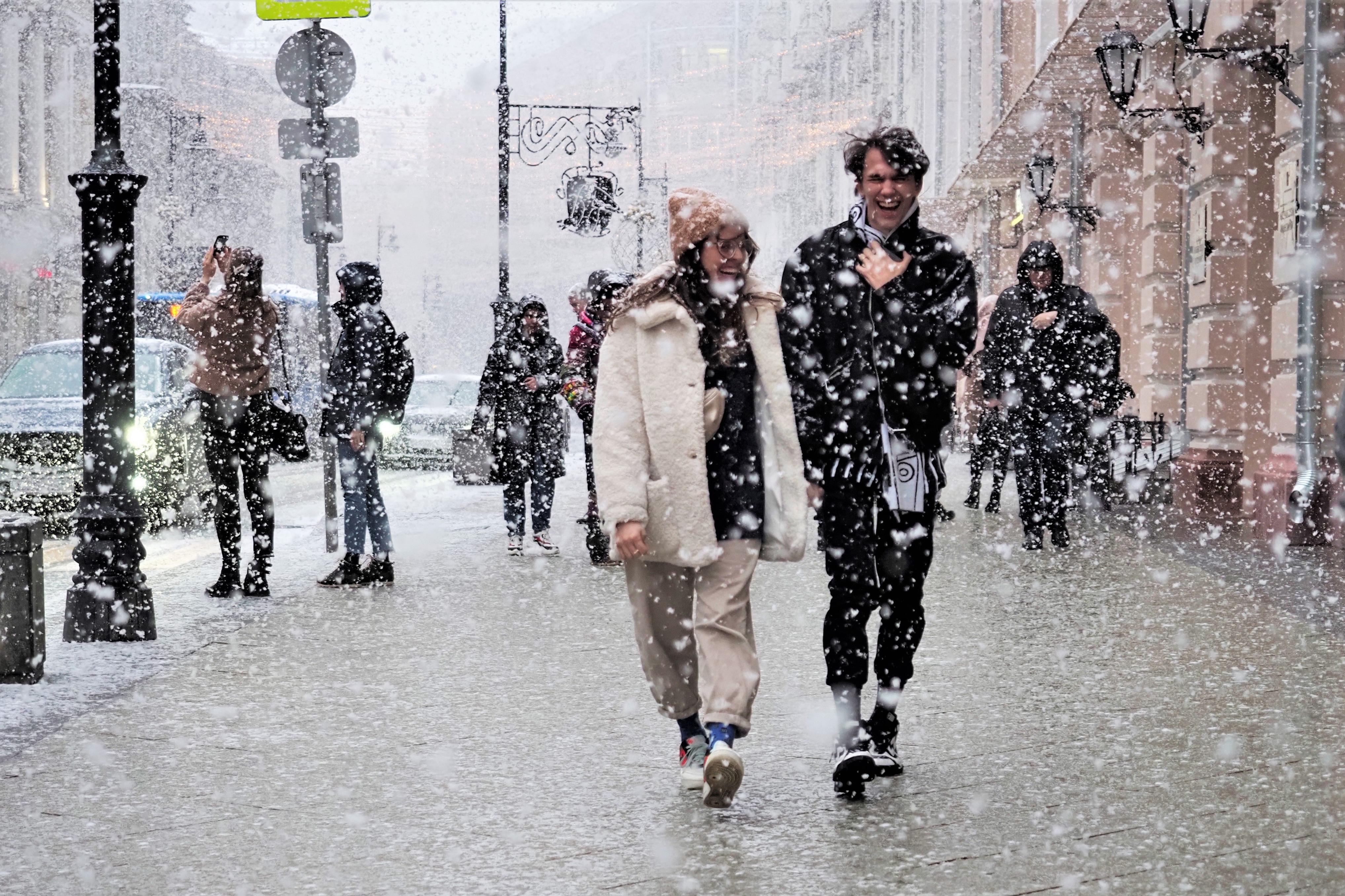 Москвичам пообещали снежный покров утром в субботу