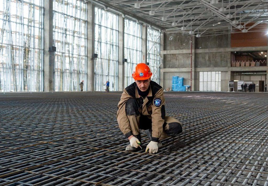 Строительство ФОКа завершают на территории стадиона «Торпедо». Фото: сайт мэра Москвы