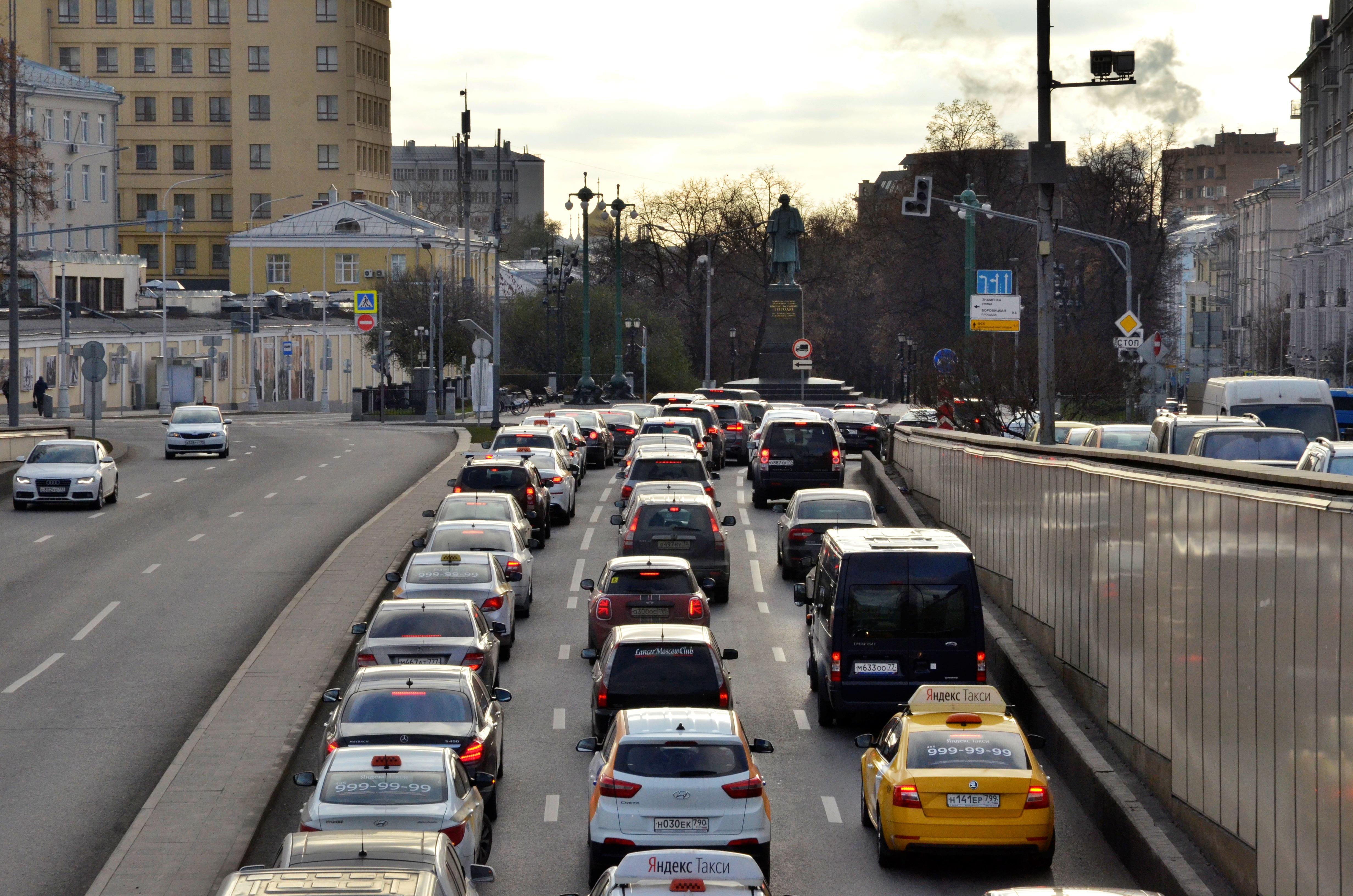 Продолжается активное развитие транспортного каркаса Москвы