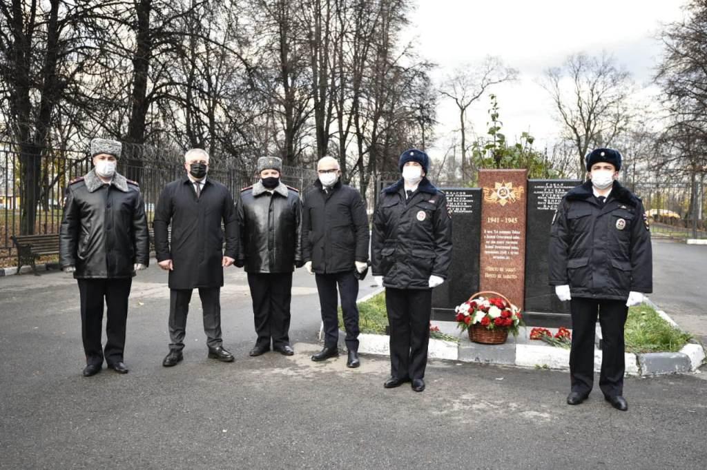 В День сотрудника органов внутренних дел состоялось торжественное открытие мемориальной доски