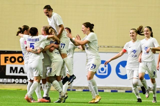 Футболистки «Чертанова» одержали победу над «Енисеем»