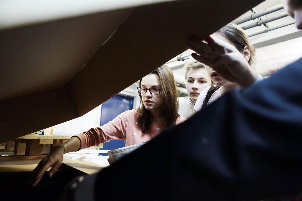 Особенности изготовления печатной продукции продемонстрируют в техникуме имени Красина