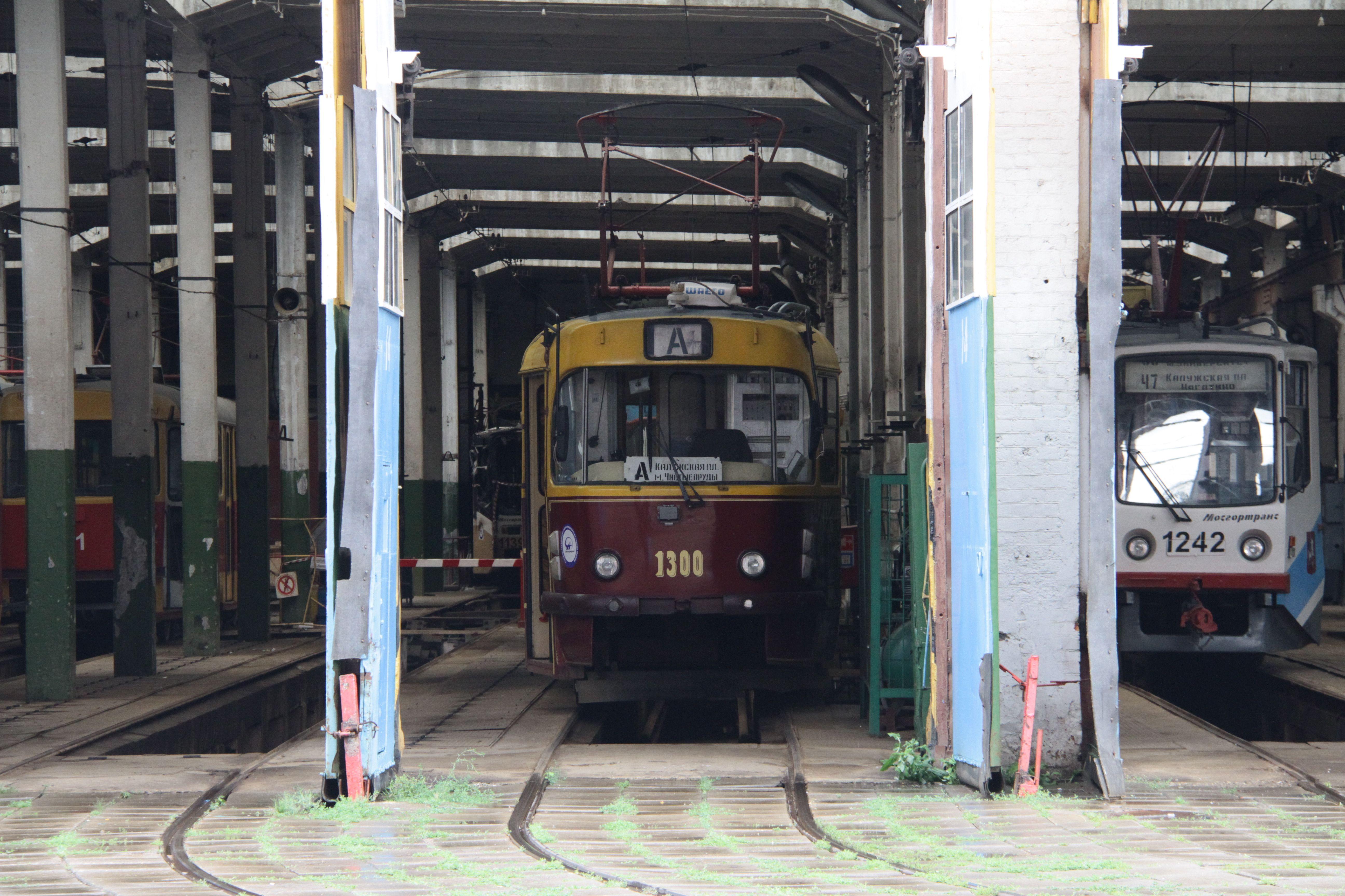 Трамвайное депо реконструируют на Шаболовке