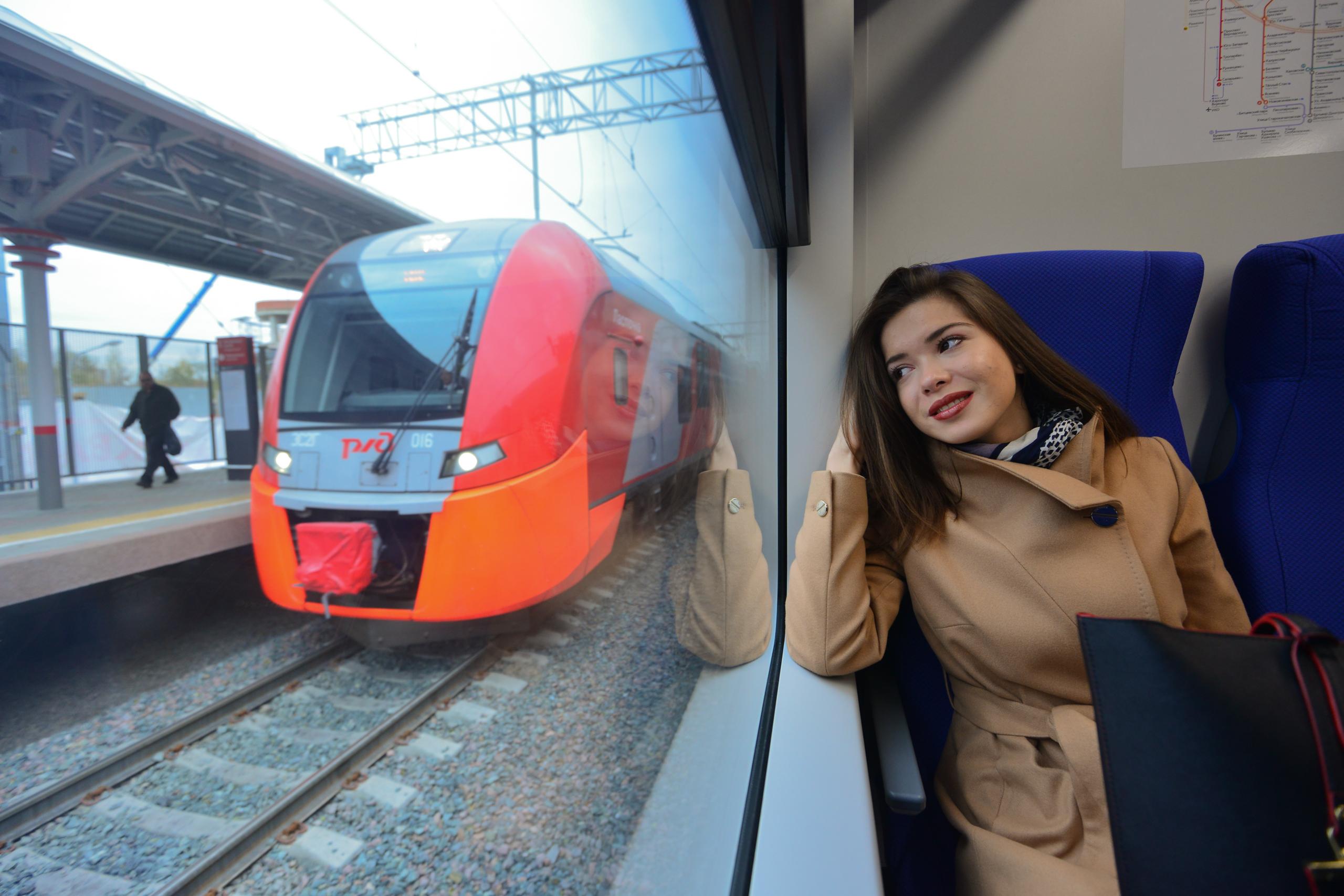 Поезда на МЦК будут курсировать по графику выходного дня 4 ноября
