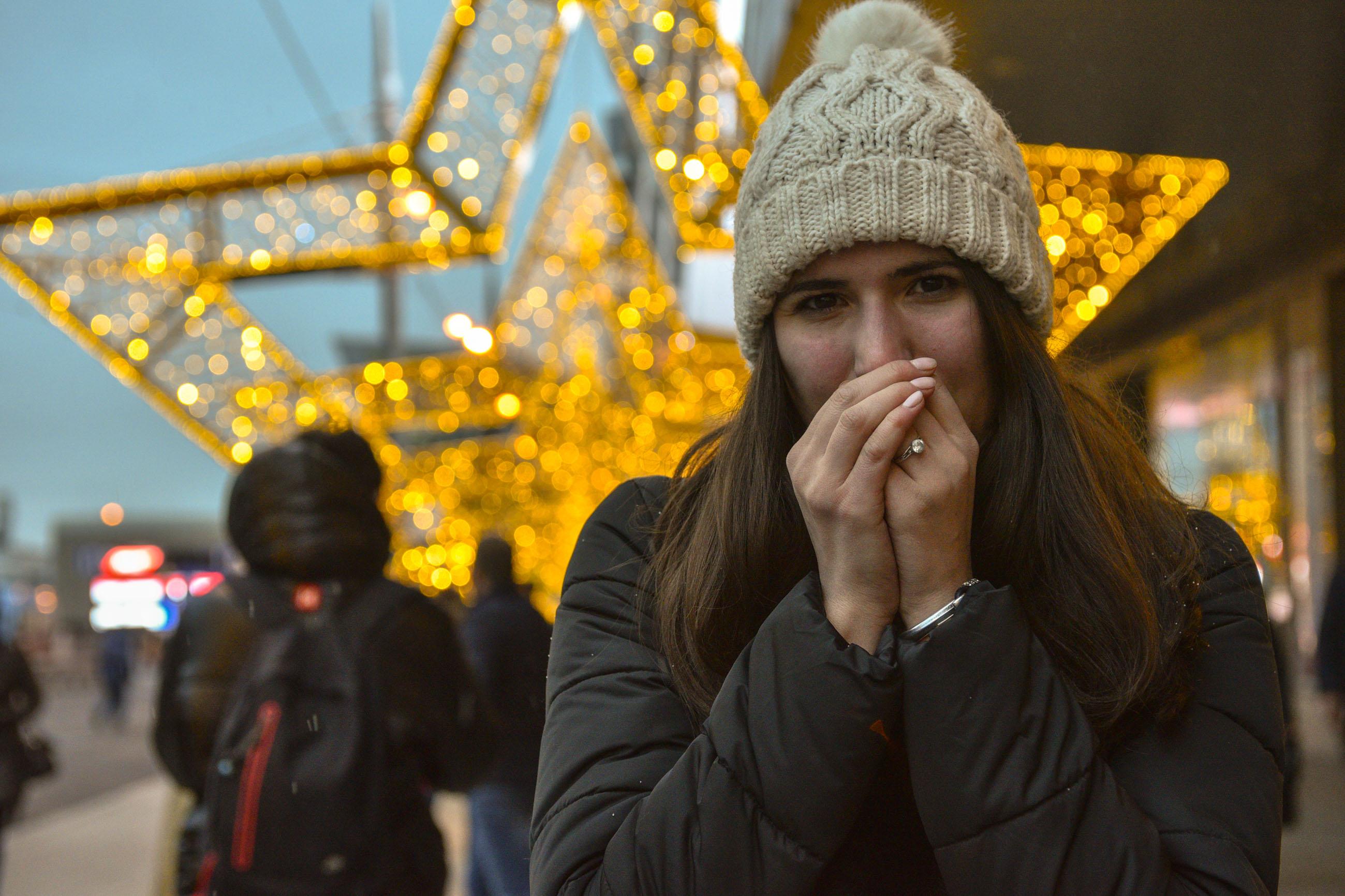Жителям Москвы пообещали восьмиградусные морозы