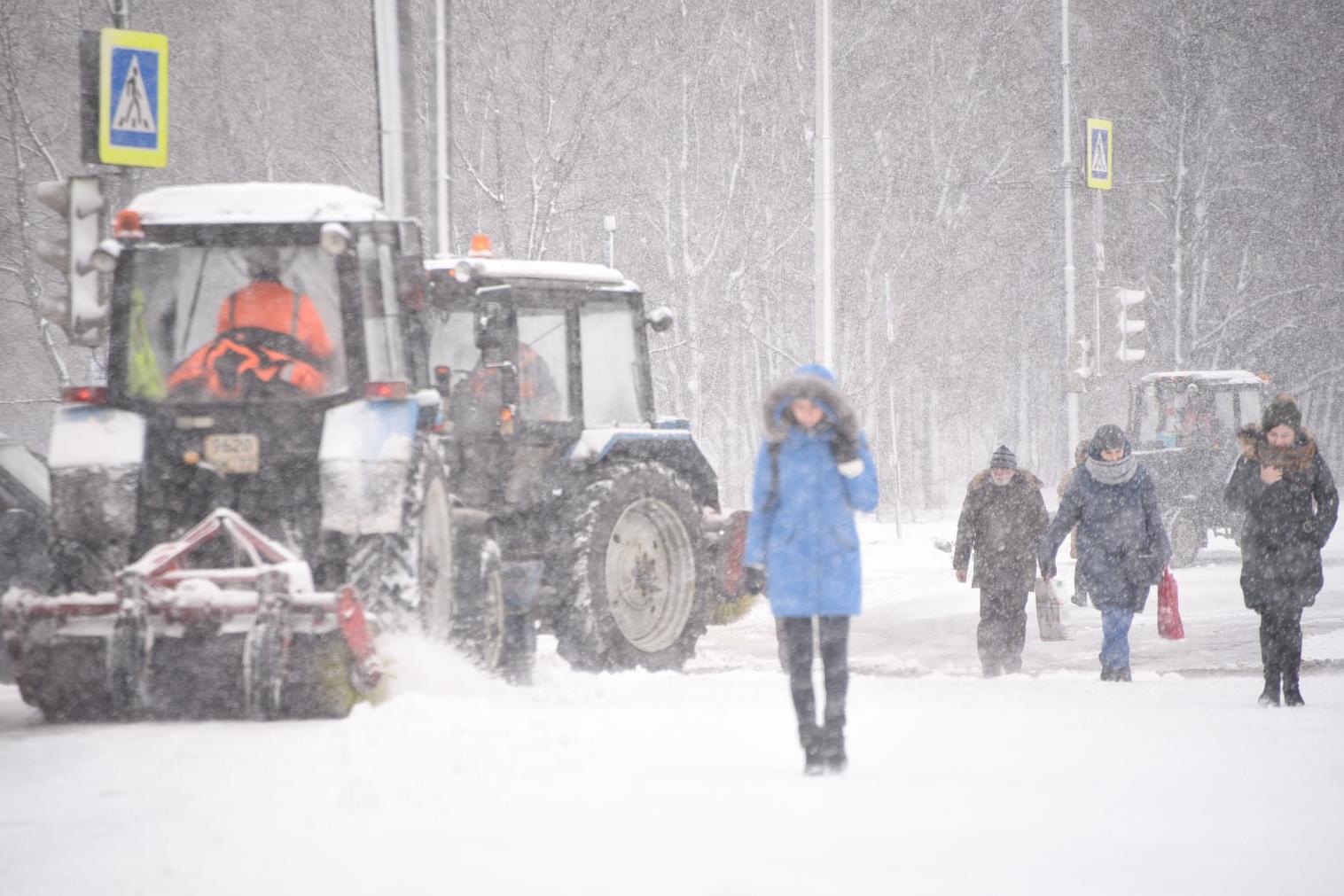 Москвичей настигнет снежная буря