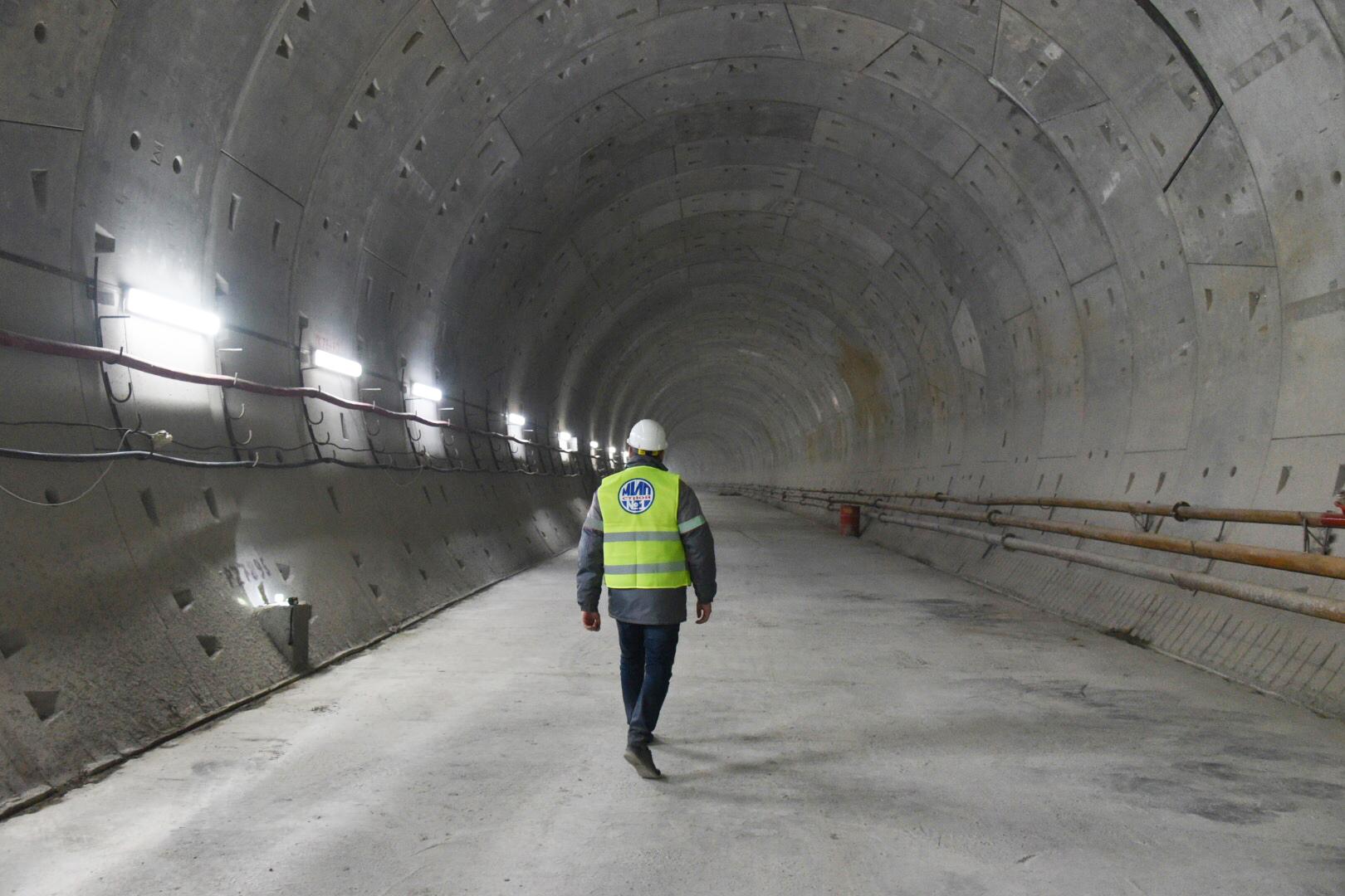 Южный участок БКЛ в Москве достроили на 60 процентов