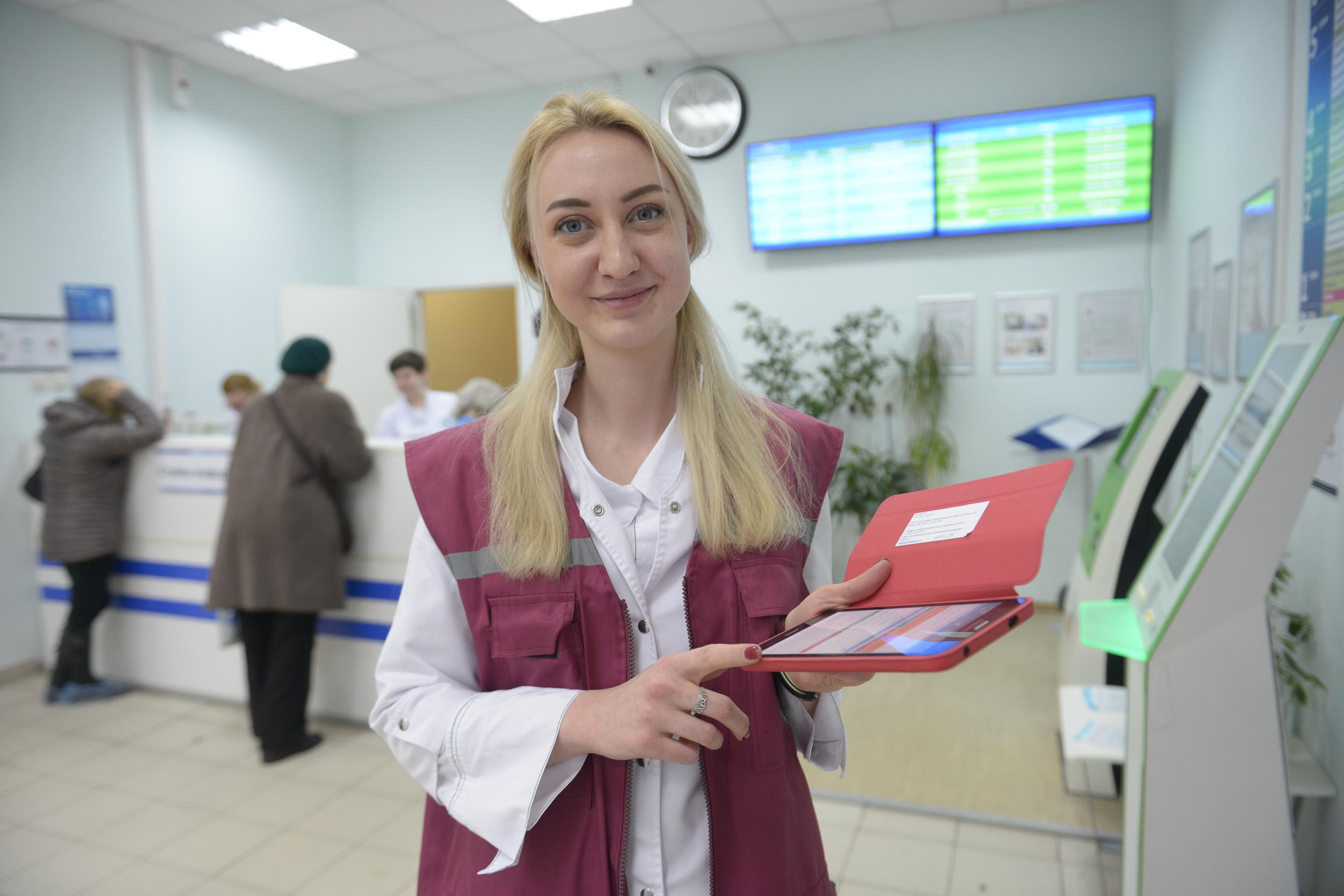 Льготные рецепты с QR-кодом горожане смогут распечатать в информационных киосках поликлиник столицы