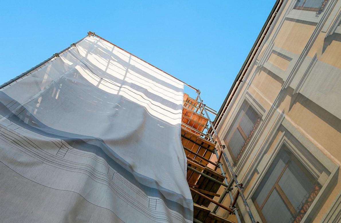 Фасады здания Спортивной школы олимпийского резерва №42 приведут в порядок