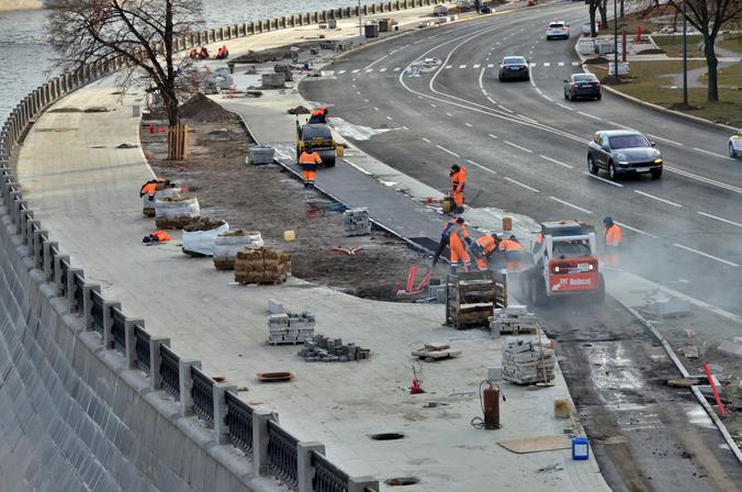 Набережную Марка Шагала планируют достроить весной 2021 года. Фото: Анна Быкова