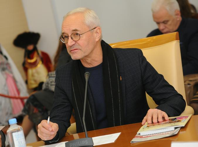 На фото председатель комиссии Московской городской Думы по культуре и массовым коммуникациям Евгений Герасимов
