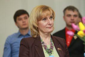 На фото председатель комитета Совета Федерации РФ по социальной политике Инна Святенко