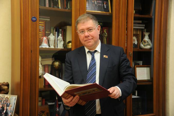 Депутат МГД Орлов отметил важность поправок фракции «ЕР» в проект бюджета Москвы
