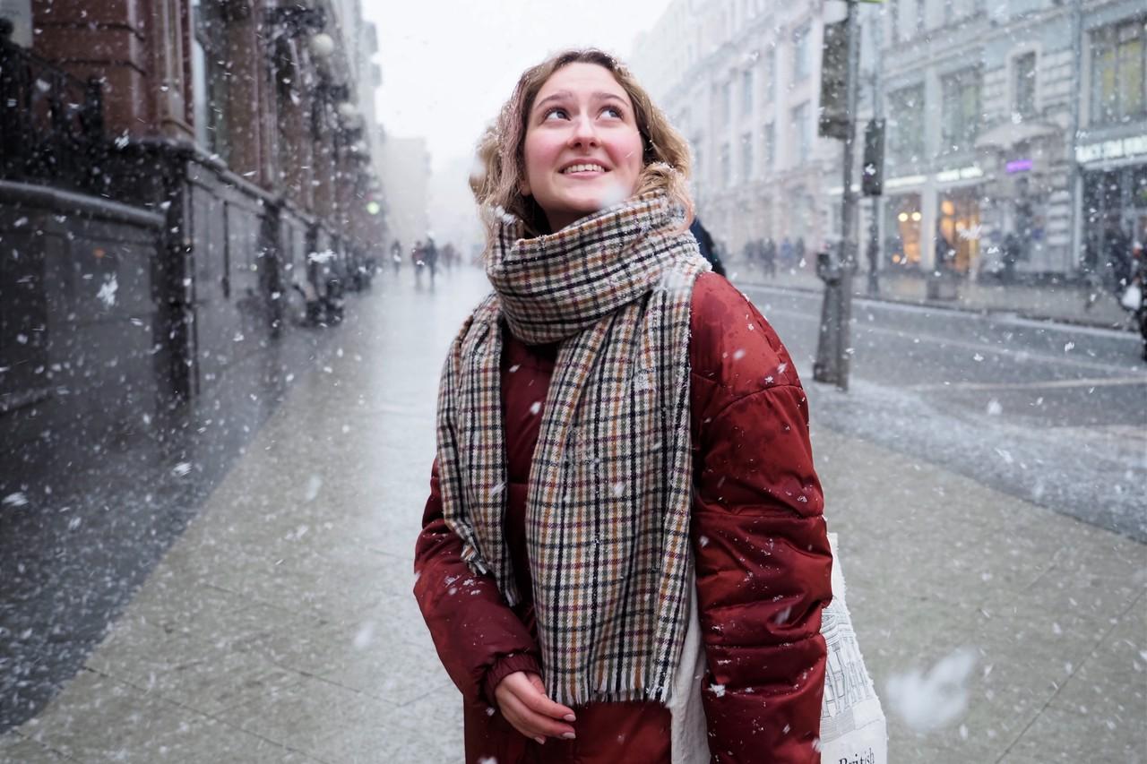 Небольшой снег ожидается в Москве на выходных