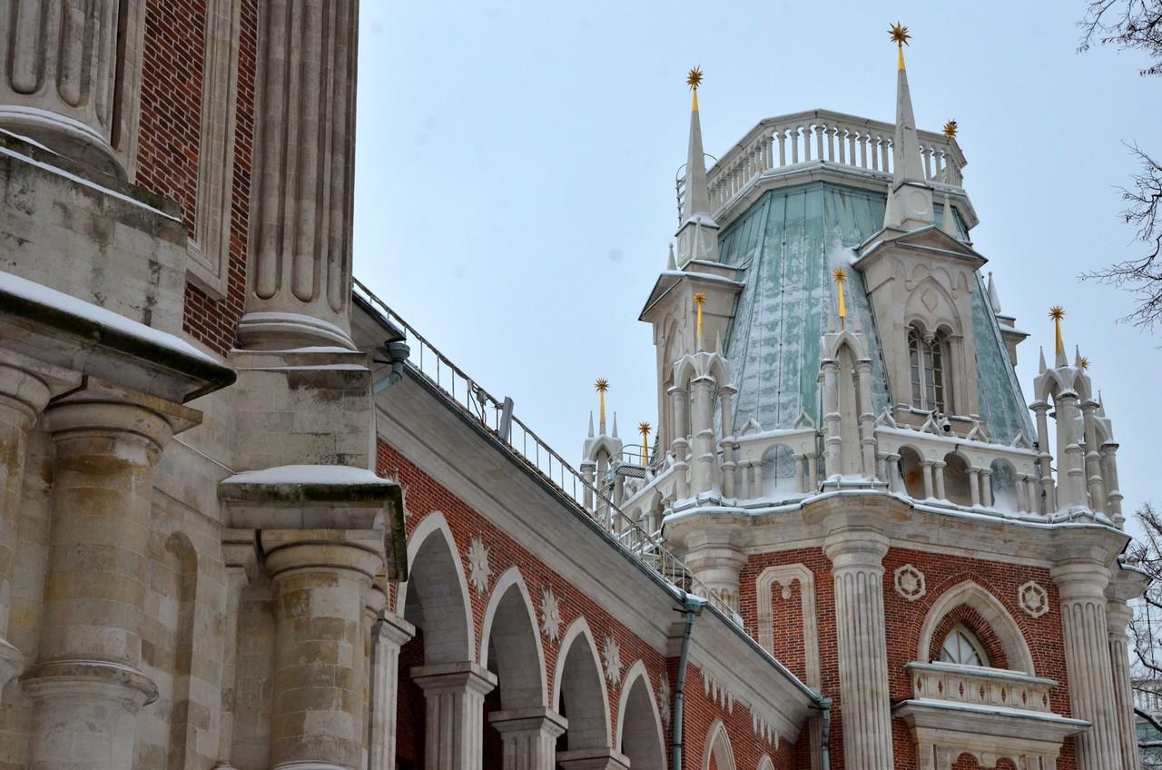 Виртуальную экскурсию по новой экспозиции проведут в «Царицыне»