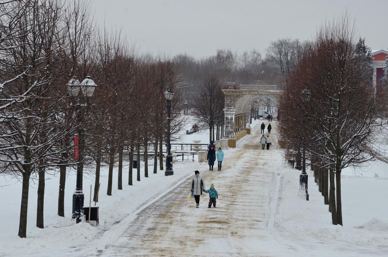 Москвичей ждет небольшой снег в воскресенье