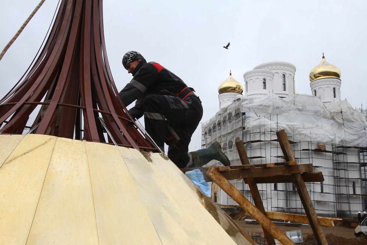 Строительство храма запланировали в Царицыне