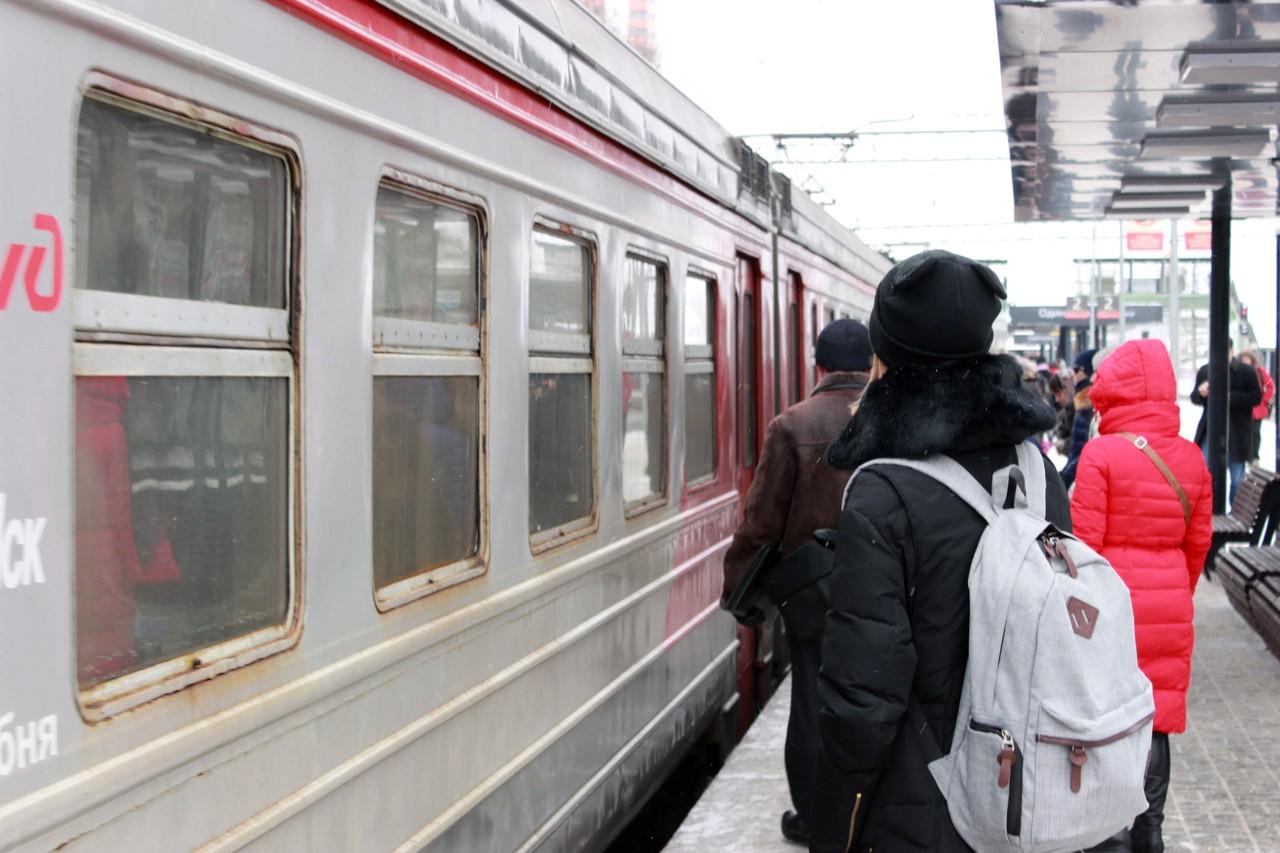 Московские электрички станут курсировать по новому расписанию
