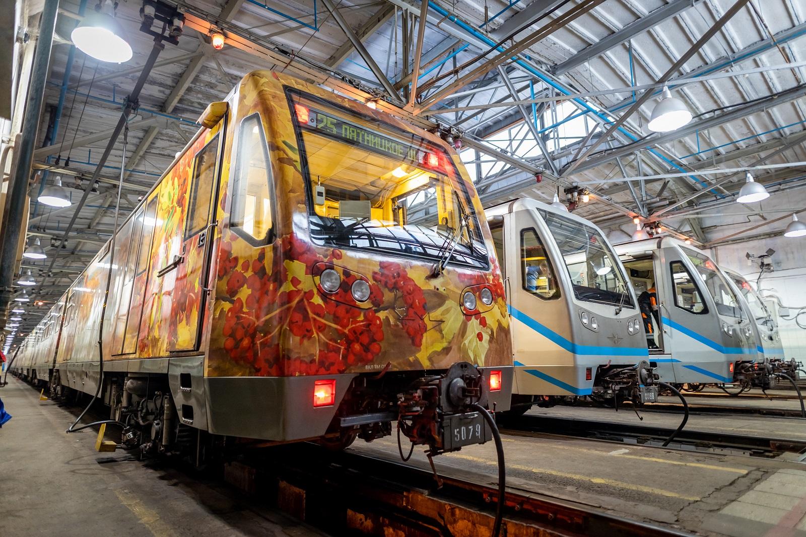 Анималистическое искусство: тематический поезд метро украсили картинами из Дарвиновского музея