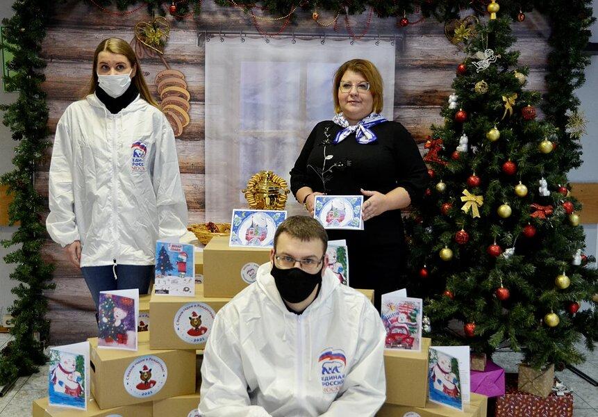 Депутат МГД Ольга Мельникова поздравила ветеранов с наступающим Новым годом