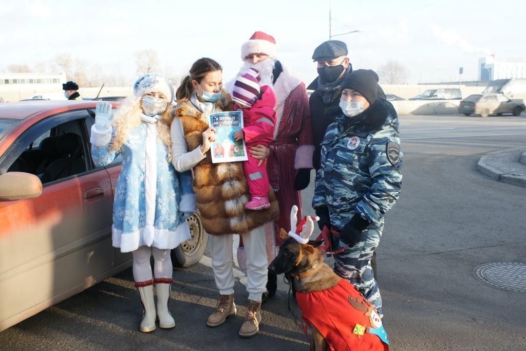 Член Общественного совета Харис Ильясов принял участие в акции «Полицейский Дед Мороз»