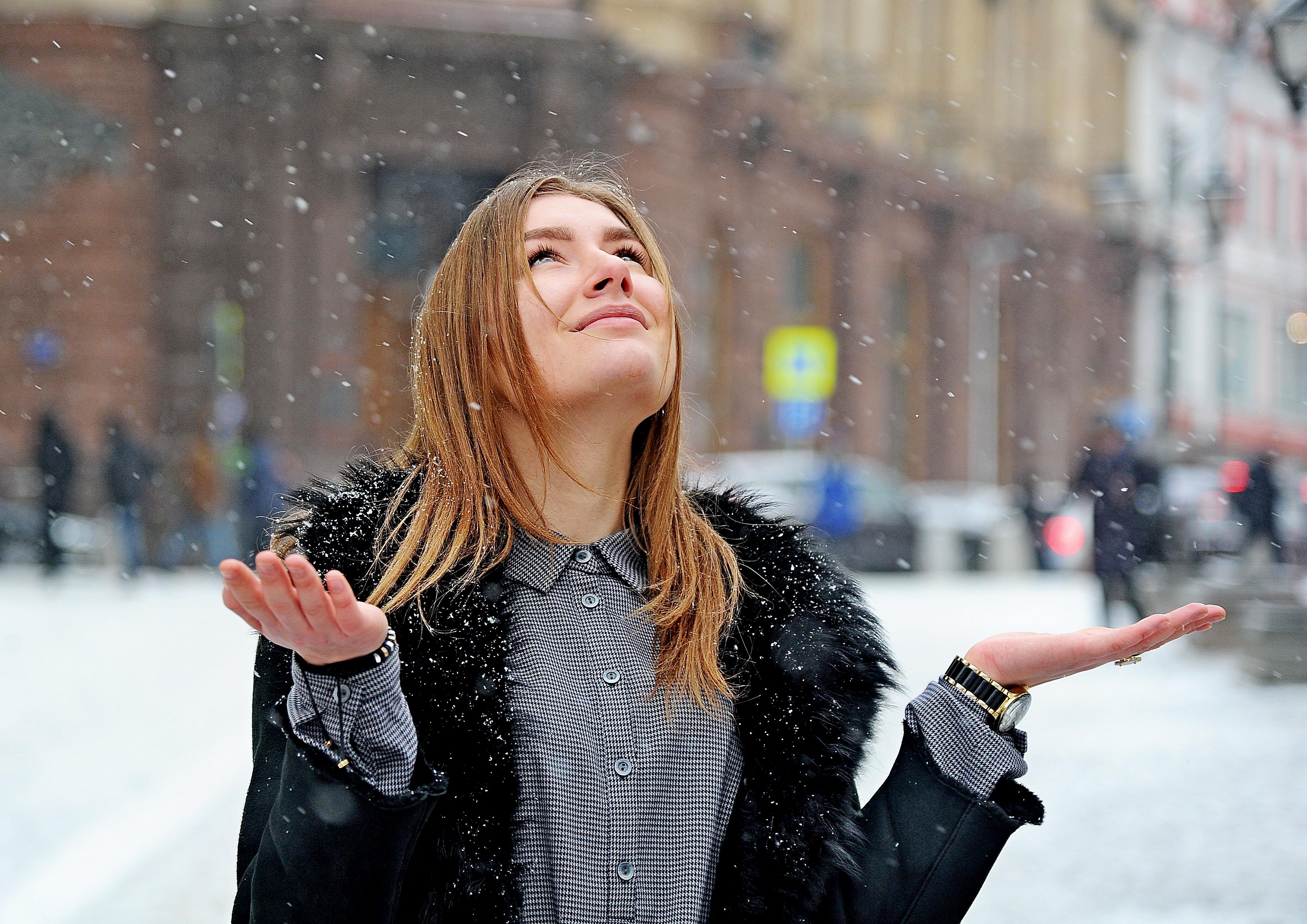 Небольшой снег ожидается в Москве в пятницу