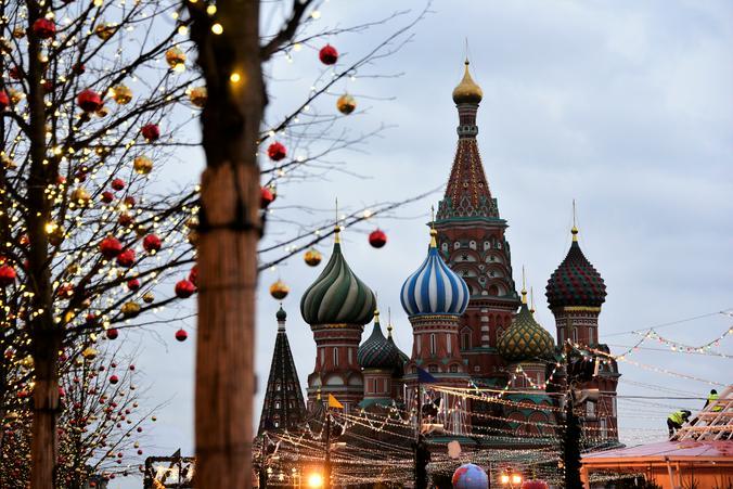 Доступ на Красную площадь будет закрыт в новогоднюю ночь. Фото: Пелагия Замятина, «Вечерняя Москва»