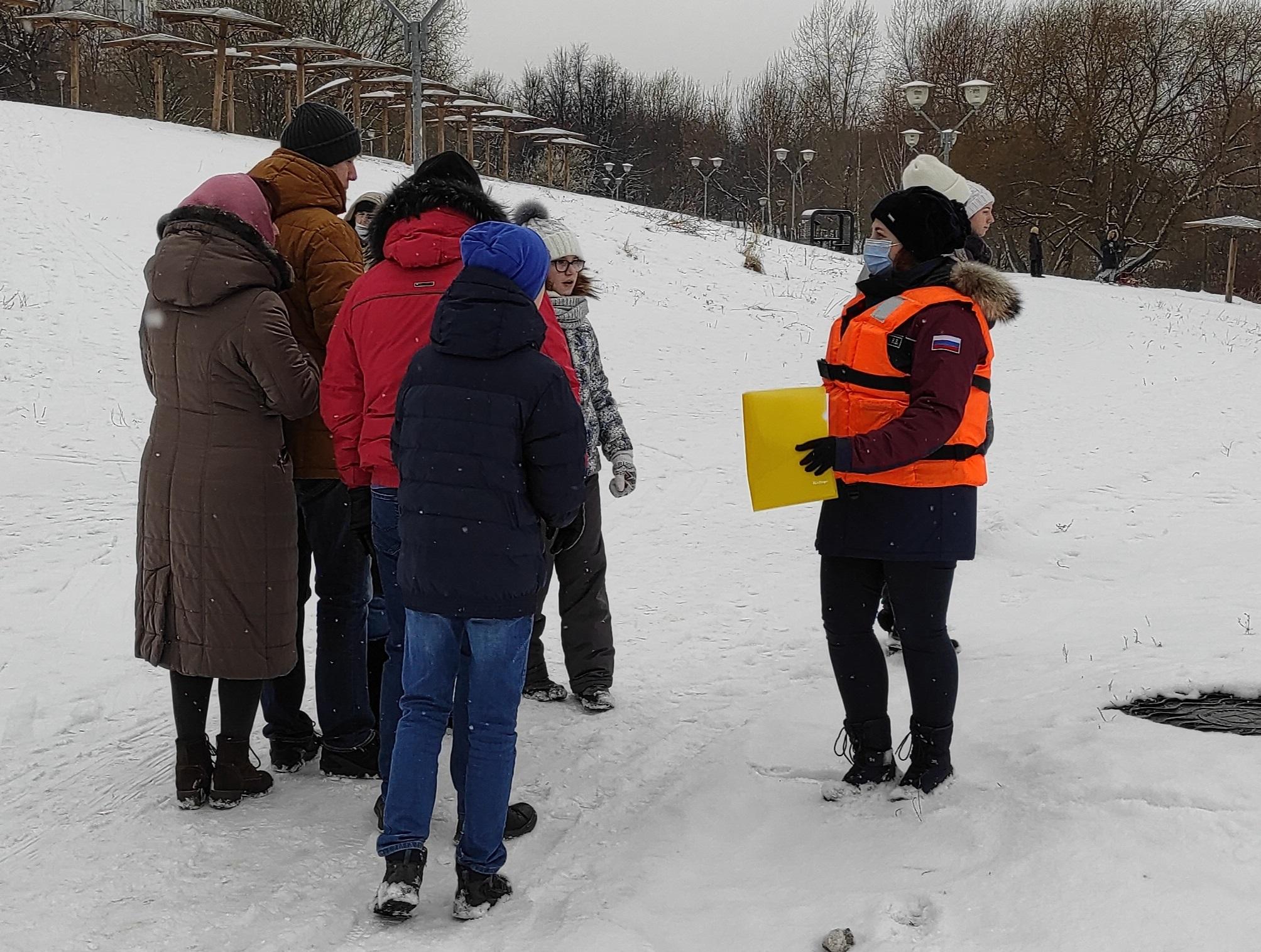 Сотрудники Управления по ЮАО Департамента ГОЧСиПБ стоят на страже безопасности населения