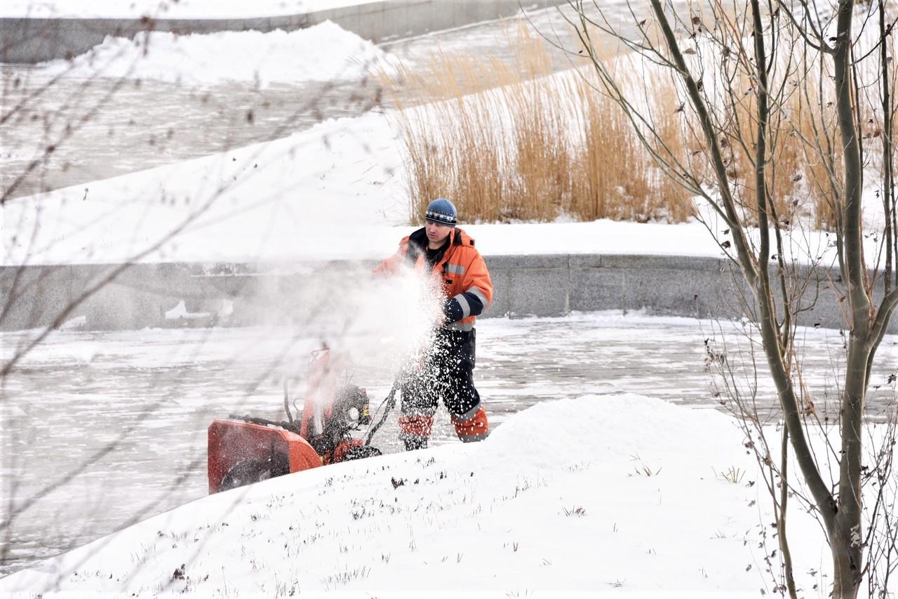 Коммунальные службы Москвы готовы к работе в мороз. Фото: Пелагия Замятина