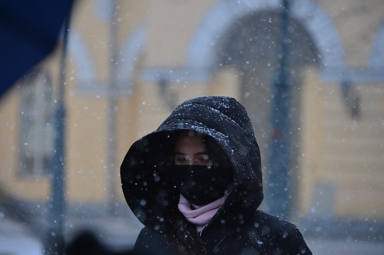 Температура понизится до минус 23 градусов в ночь на вторник
