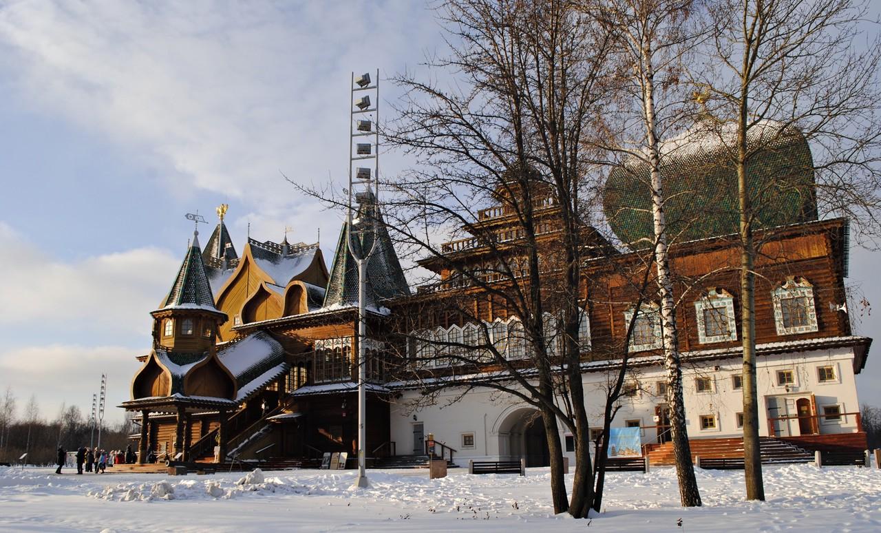 Шедевры архитектуры покажут в «Коломенском»