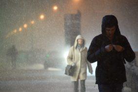 Москвичей ожидают метель и гололед. Фото: Пелагия Замятина