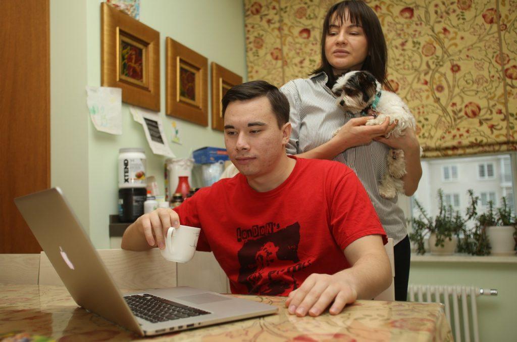 Жители юга посетили семейный тренинг онлайн. Фото: Наталия Нечаева, «Вечерняя Москва»