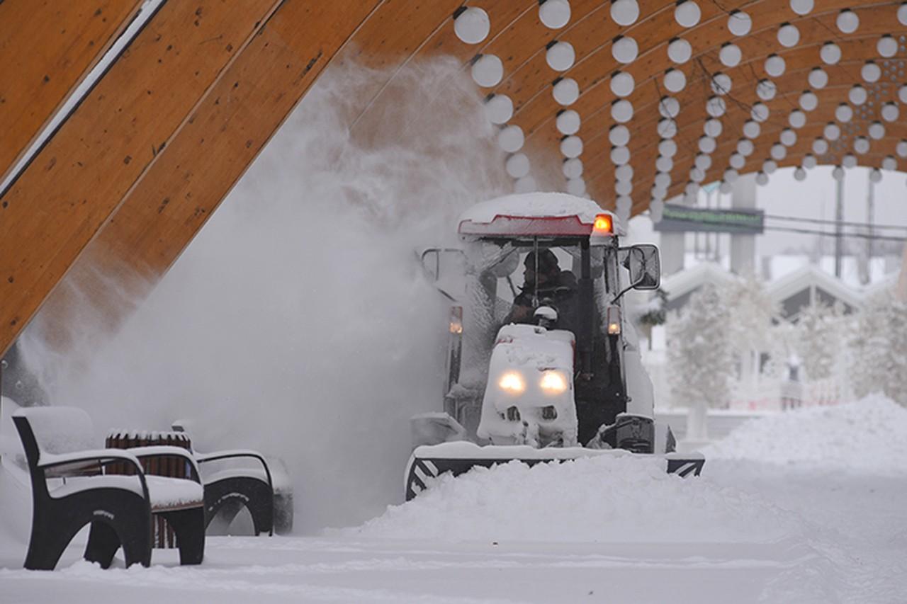 В Москве утилизировали свыше 240 тысяч кубометров снега за сутки