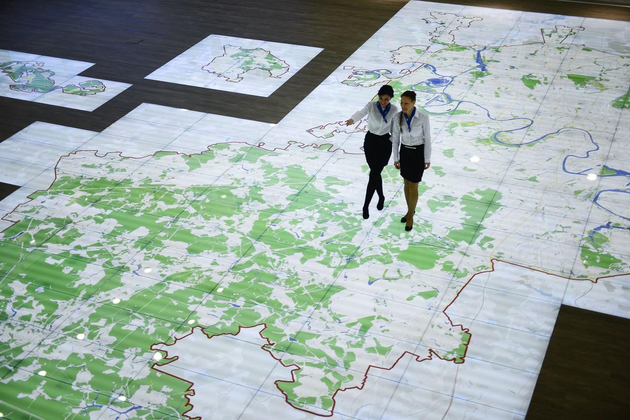 Около 30 новых сценариев разработают для интерактивной карты Москвы