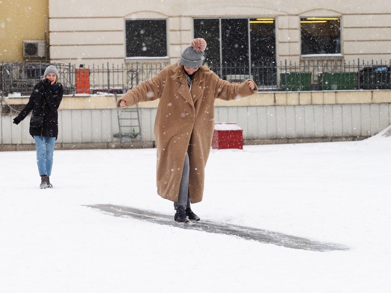 Москвичей ждет легкий мороз в выходные