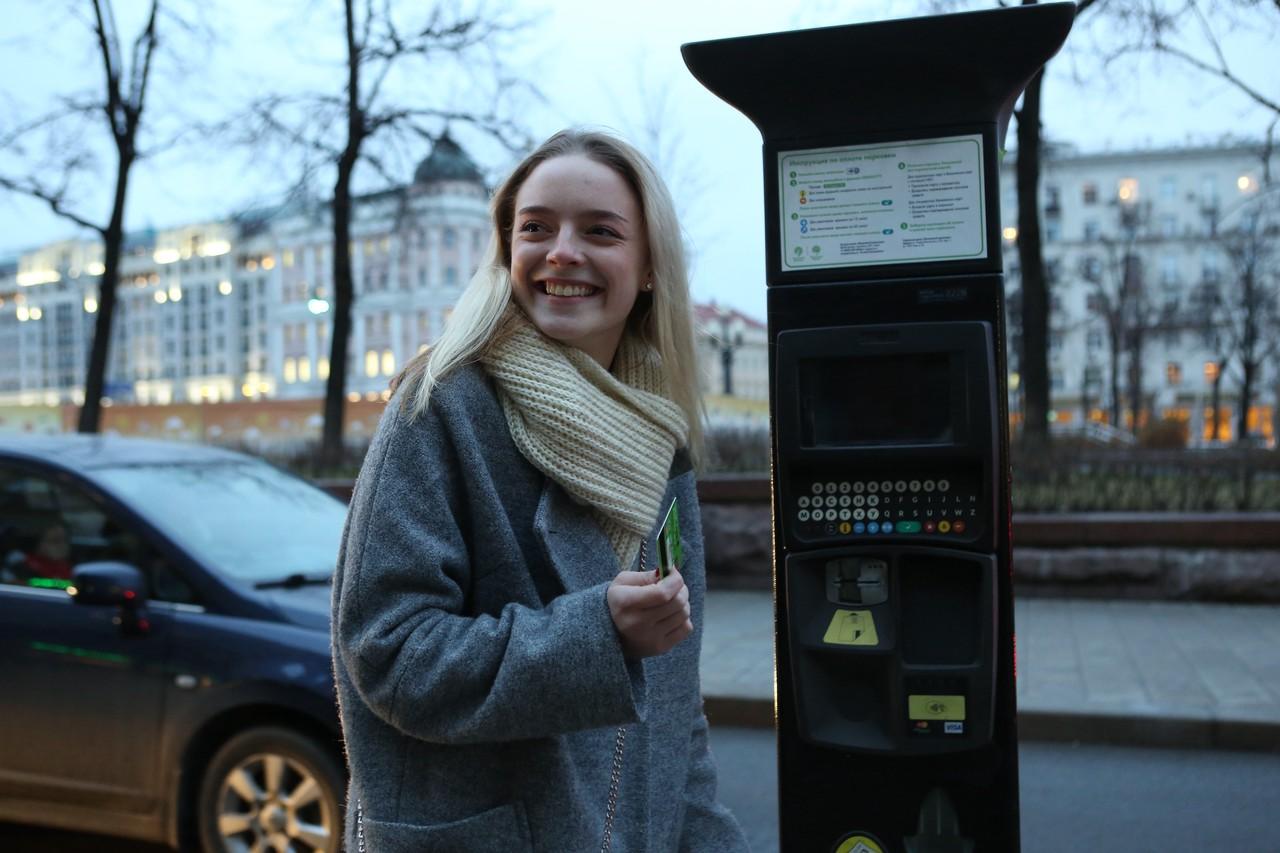 Москвичи оформили свыше 110 тысяч парковочных разрешений за год