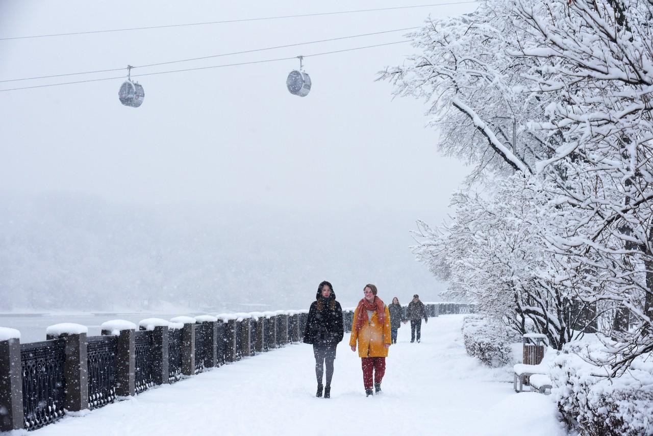 Москвичей предупредили об обильном снегопаде