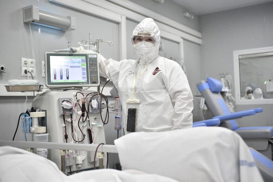 В больницах Москвы нет ни одного пострадавшего в результате незаконных акций