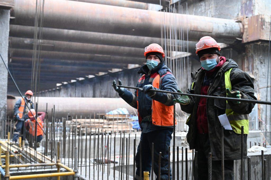 Метромост возведут в составе Бирюлевской линии метро. Фото: Алексей Орлов, «Вечерняя Москва»