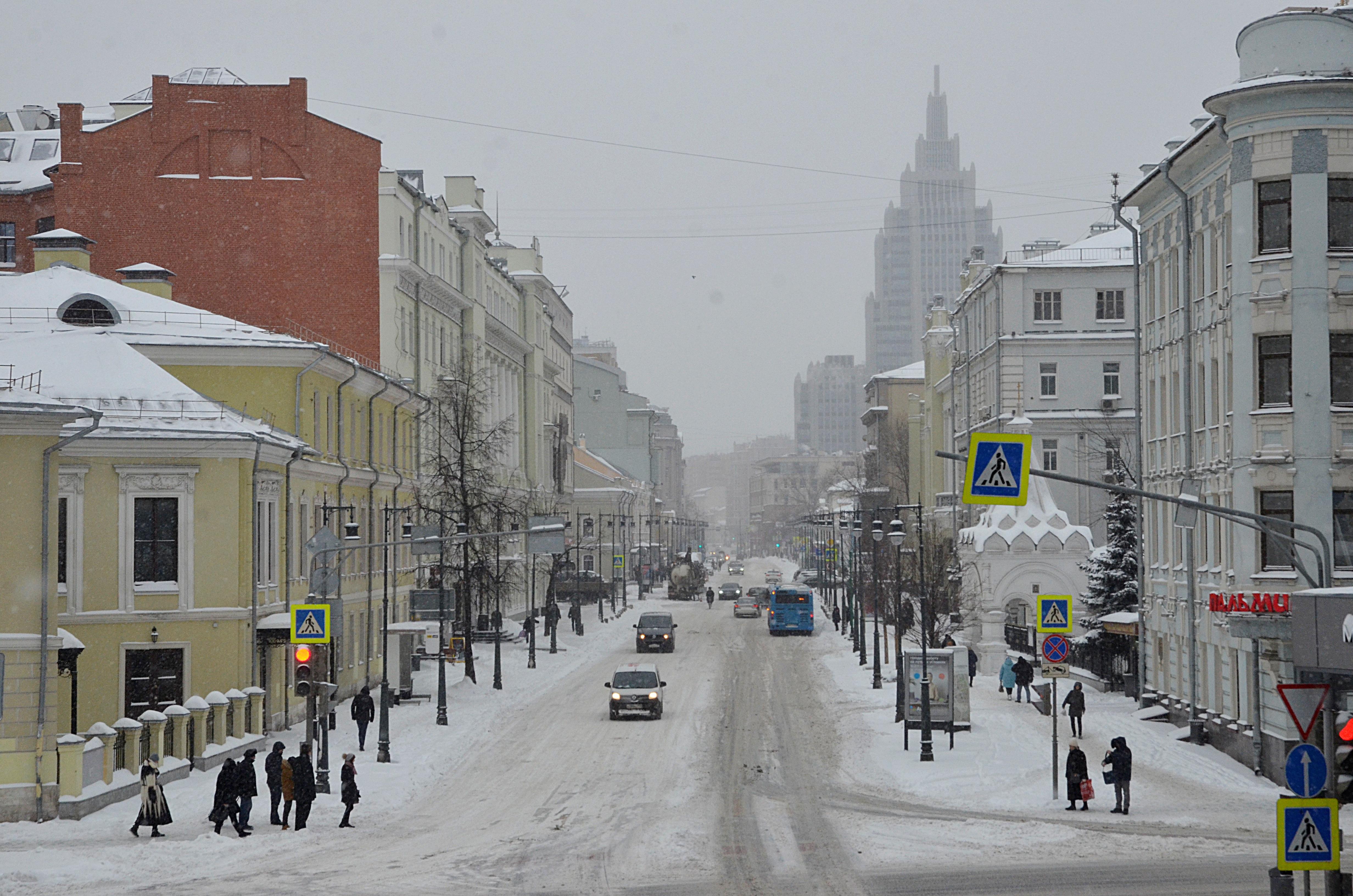 В ходе незаконной акции в Москве пострадали три сотрудника Росгвардии