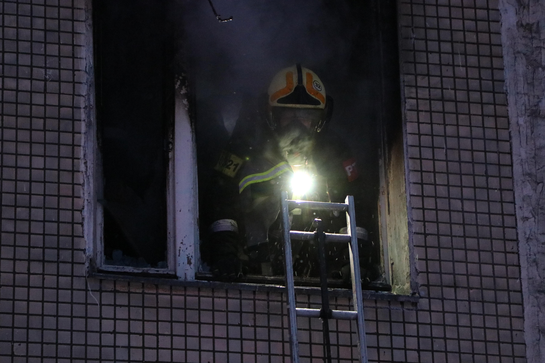 Пожар у соседей! Как действовать?