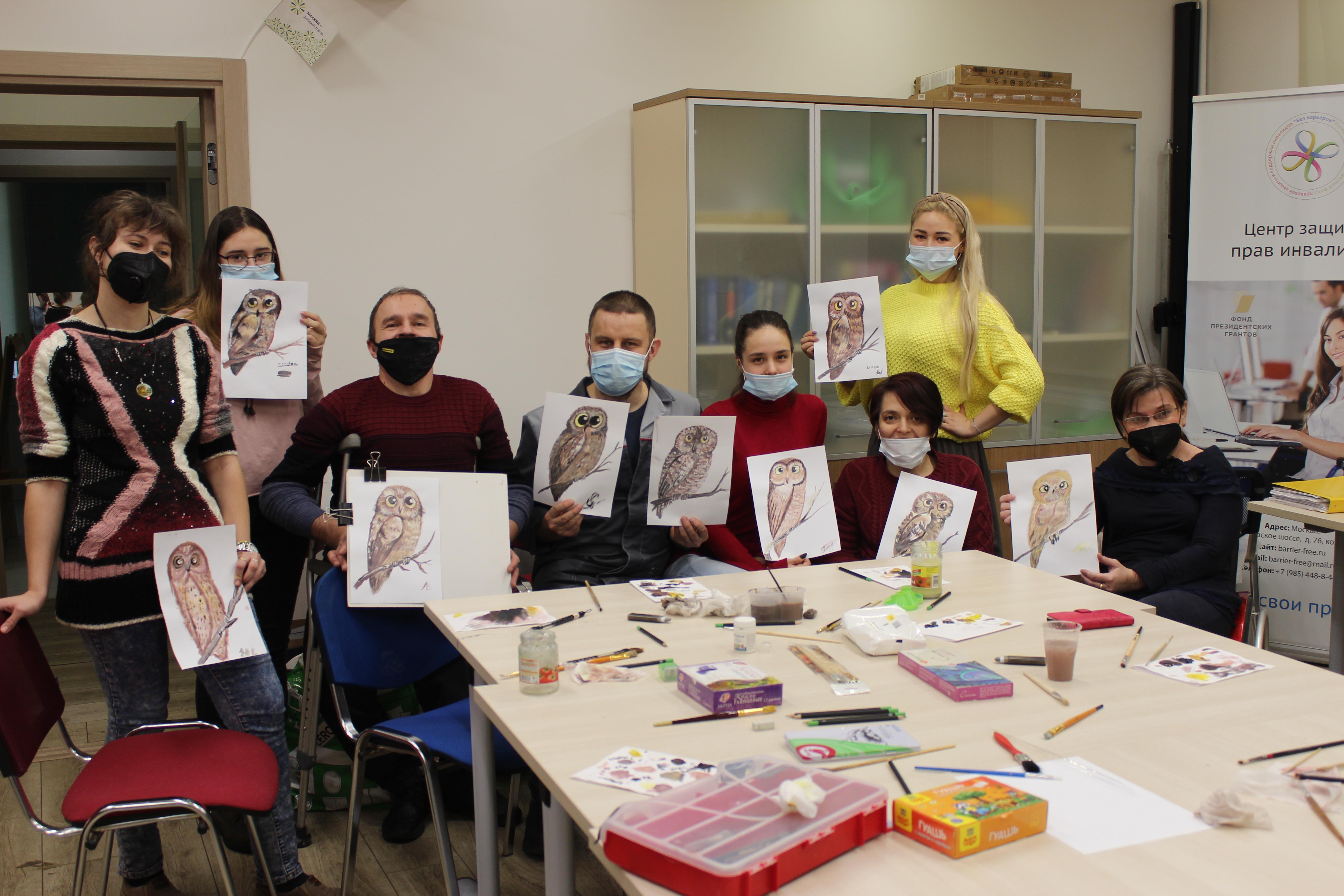 Жители юга посетили творческие мастер-классы
