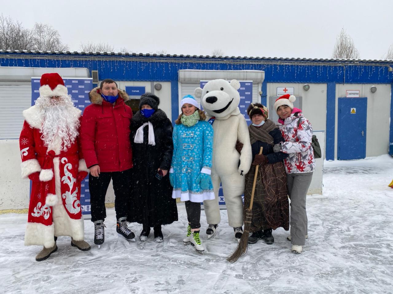 Дискотеку на льду организовали в Царицыне