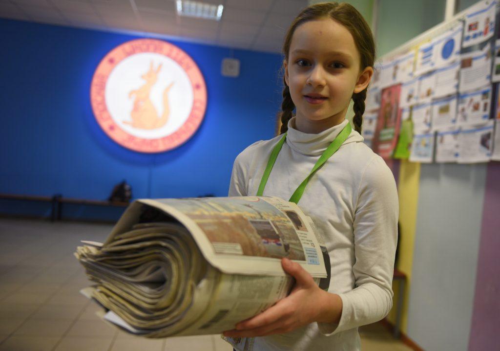 Школа №988 заняла первое место в экологическом конкурсе. Фото: Александр Кожохин, «Вечерняя Москва»
