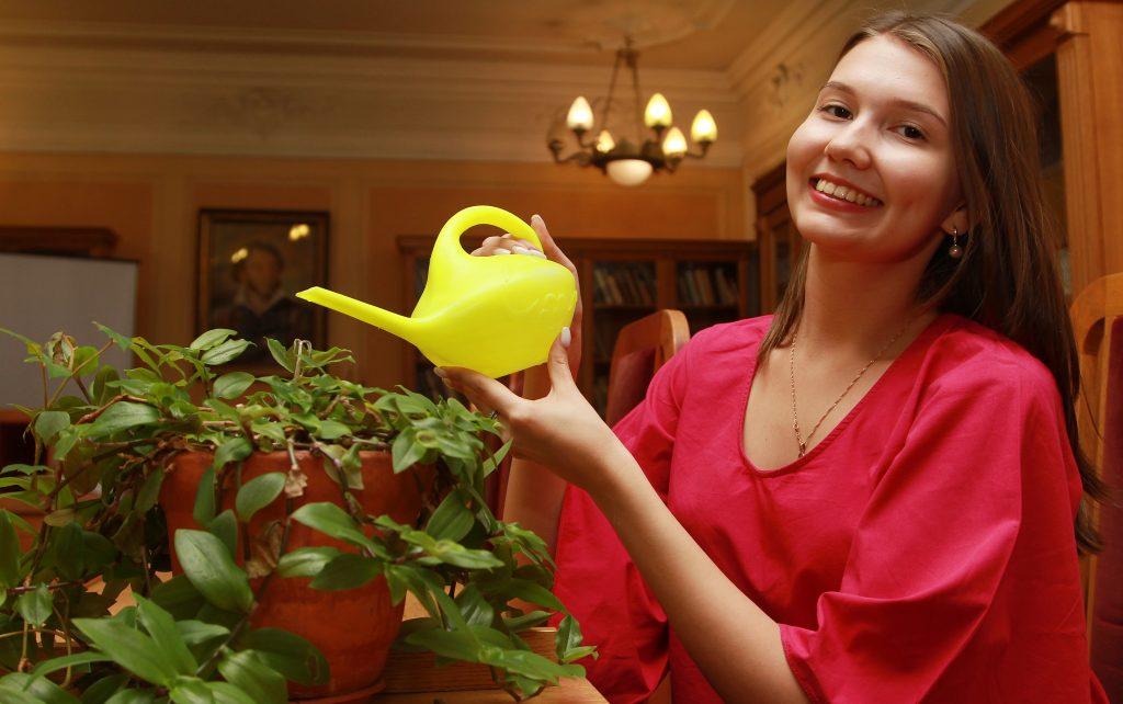 Правила ухода за комнатными растениями объяснили в «Царицыне». Фото: Наталия Нечаева, «Вечерняя Москва»