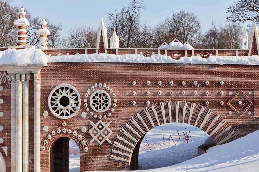 Москвичам рассказали об архитектурном ансамбле «Царицына». Фото: страница музея-заповедника «Царицыно» в социальных сетях